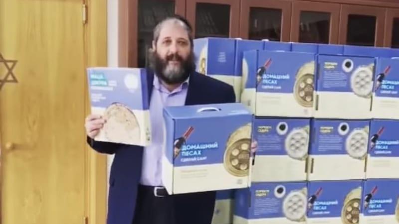 Маца шмура в подарок к Песаху для еврейских общин СНГ