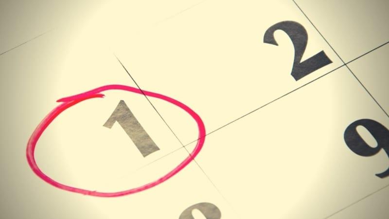 ☽ Еврейский календарь   История освящения месяцев