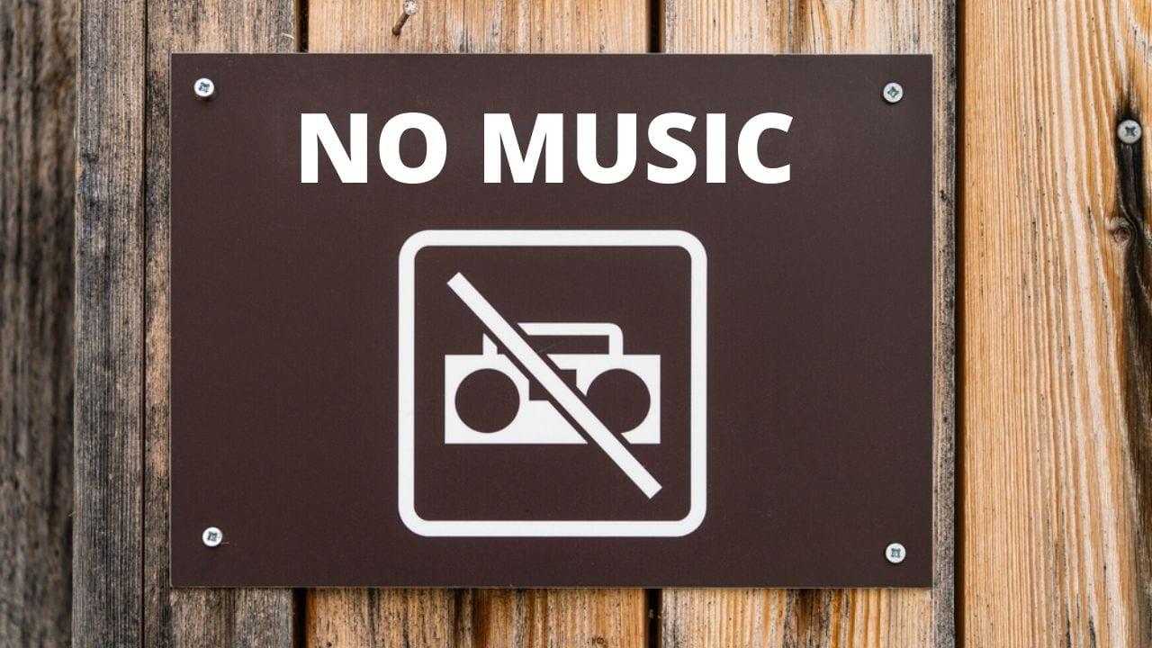 Три недели бейн га мецарим Запрет слушать музыку