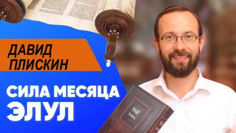 🎇 Сила месяца Элул   Давид Плискин