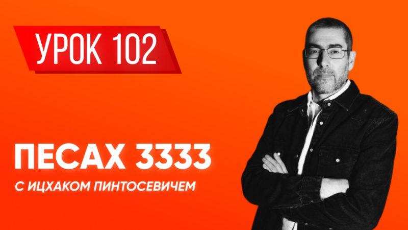 ✡ Ицхак Пинтосевич | Береги свою речь + «Краткая книга заповедей». Хафец Хаим. Урок 102