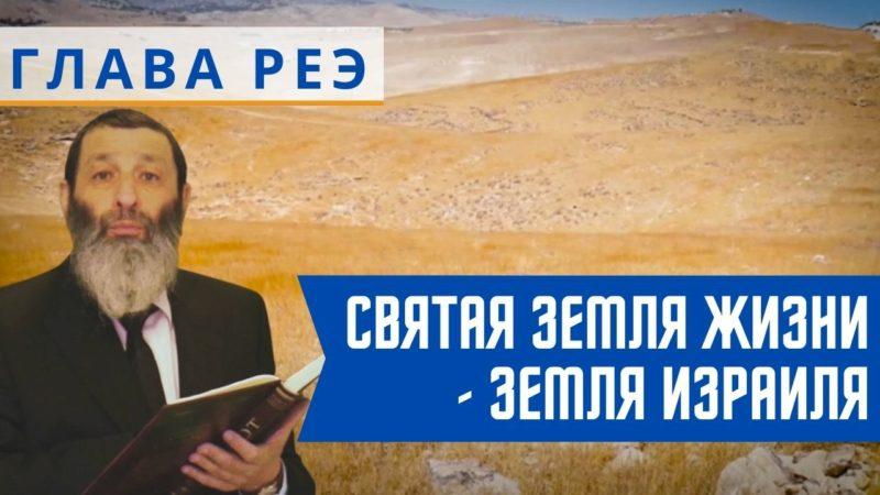 🇮🇱 Недельная глава Реэ. Святая земля жизни – Земля Израиля   Рав Цви Патлас