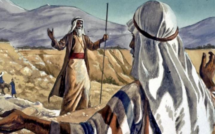 Итро, Ям суф и Амалек