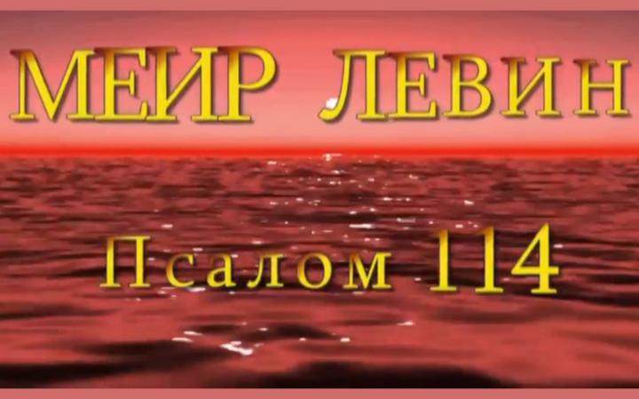 Меир Левин — «Псалом 114»