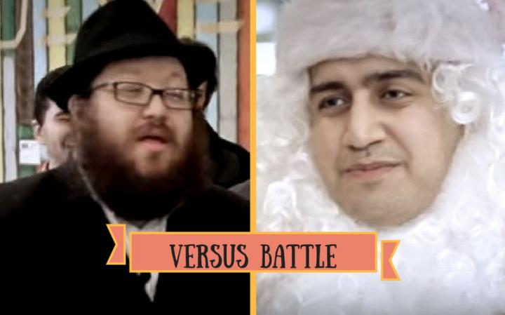 Раввин vs Санта Клаус | VERSUS BATTLE (Еврейская пародия)