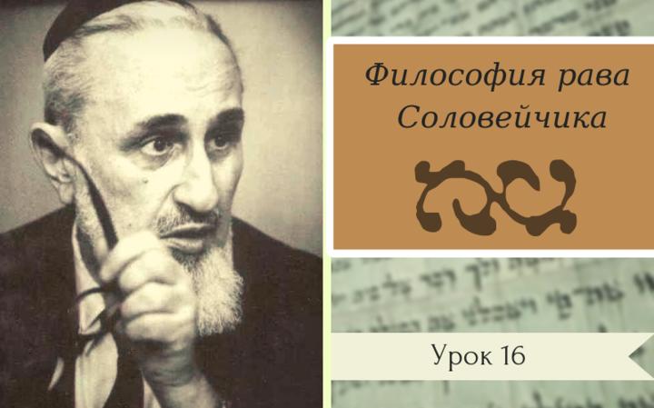 Философия рава Соловейчика | Урок 16. Человек веры – часть 6