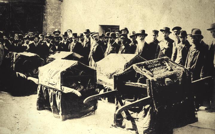 Памяти 115-летия «Кишиневского Погрома» посвящается…