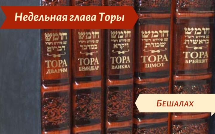 Недельная глава Бешалах — О чувстве благодарности — Заповеди материальные и духовные