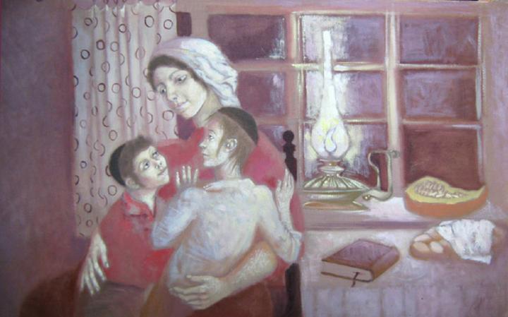 Меир Левин   Аидише мама