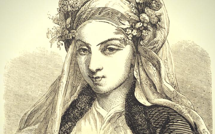 Красота еврейской женщины