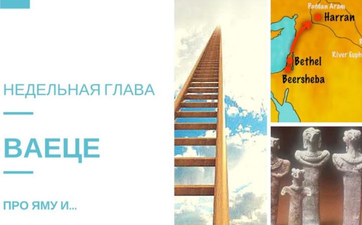 Недельная глава Торы — ВАЕЦЕ   Рав Даниэль Нафтоли Суровцев