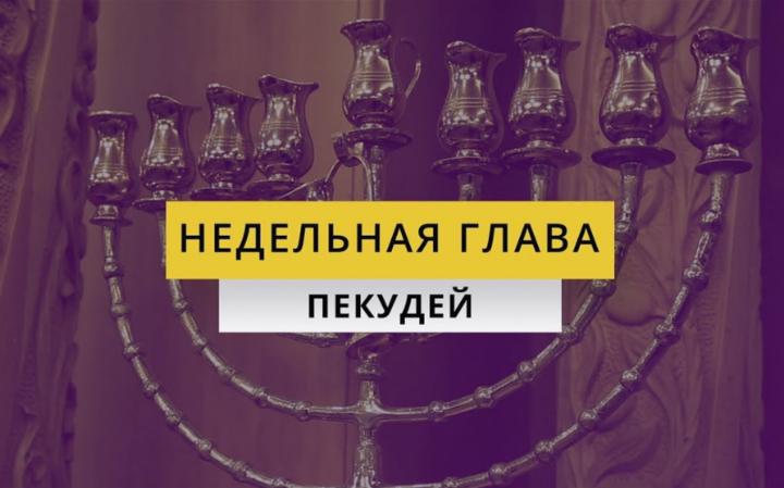 Рав Элазар Нисимов. Недельная глава Пекудей