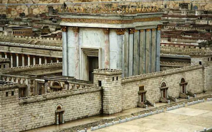 Модели восстановления разрушенного Храма