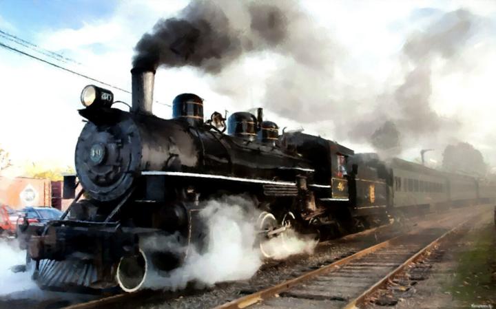 Поезд, везущий евреев