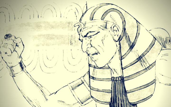 Между Б-гом и фараоном