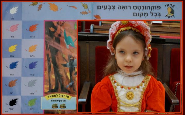 Учим иврит — Тема: ЦВЕТА — Слова на иврите