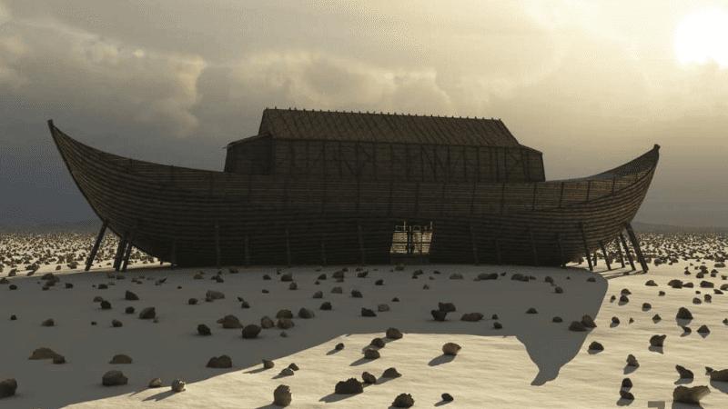 Ковчег Ноаха и Сукка — Реальность в искуплении