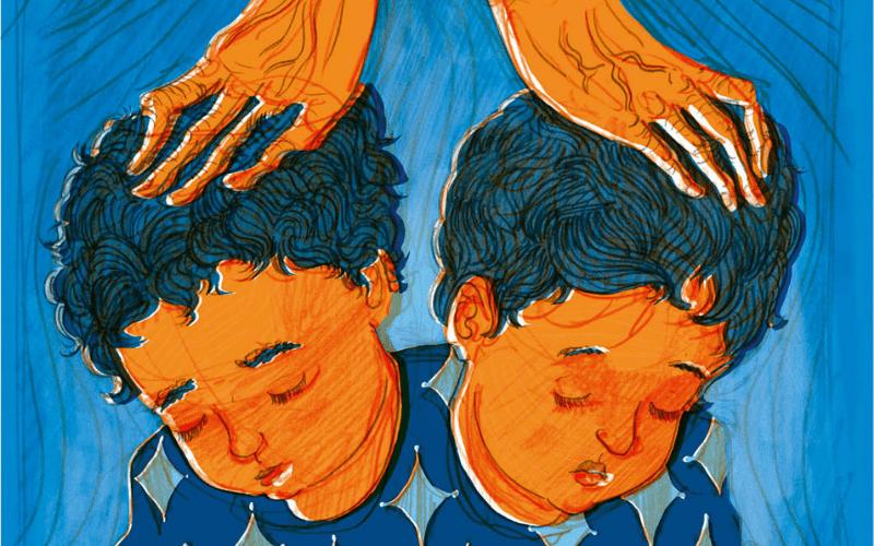 Недельная глава Ваехи   Почему Яаков скрестил руки на головах своих внуков?