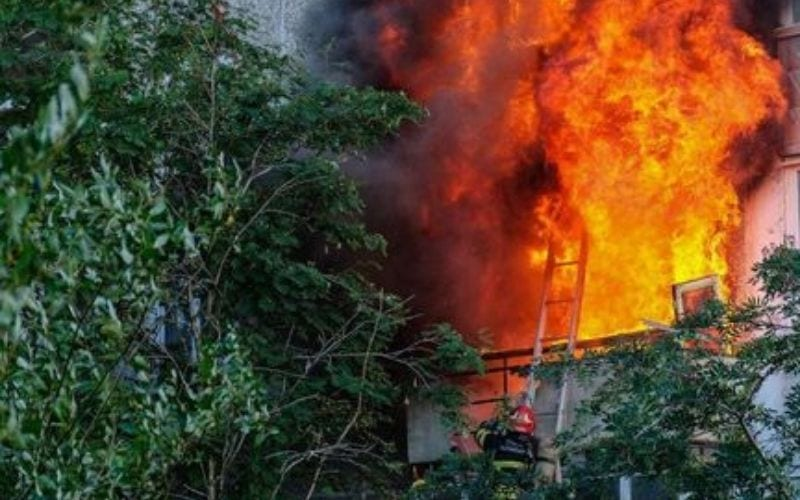 Пожар | Чудесное спасение в нееврейский новый год