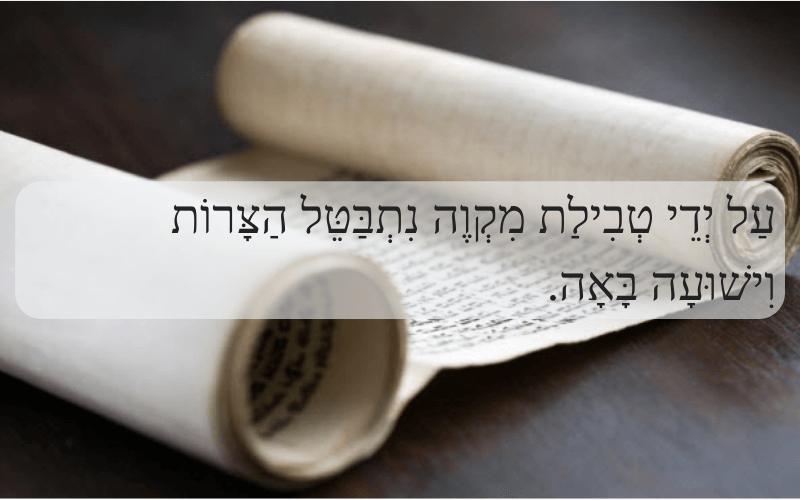 Минута скрытой мудрости 128 Погружение в микву