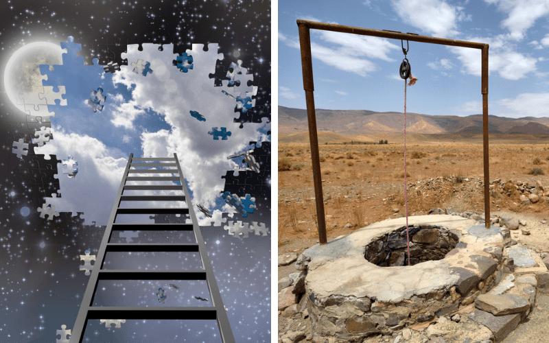 Лестница и колодец   Парные «композиции» в Торе. Часть 1