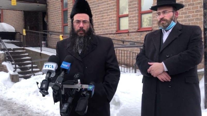 Хасиды Квебека оспаривают в суде комендантский час