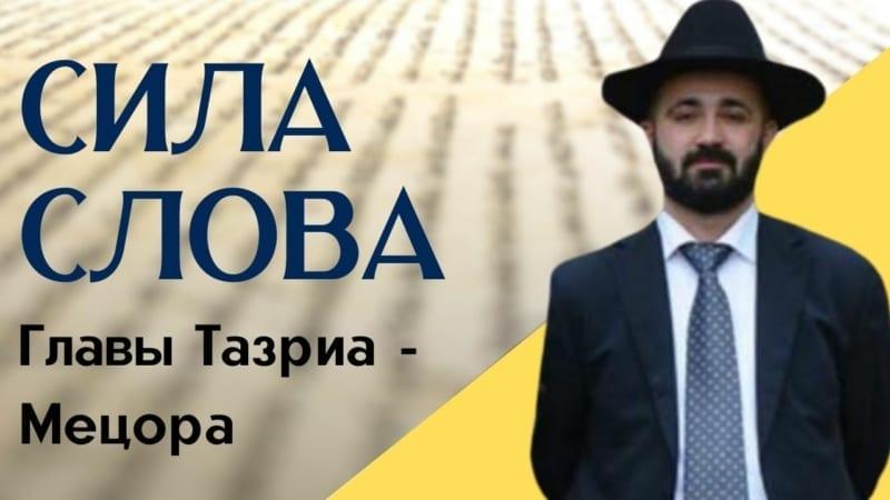 Сила слова. Недельные главы Тазриа — Мецора | Рав Реувен Якубов