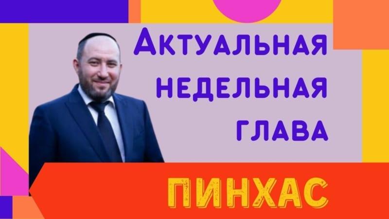 🇮🇱 Недельная глава Пинхас 5781. Я люблю Израиль! | Рав Бенцион Каплан