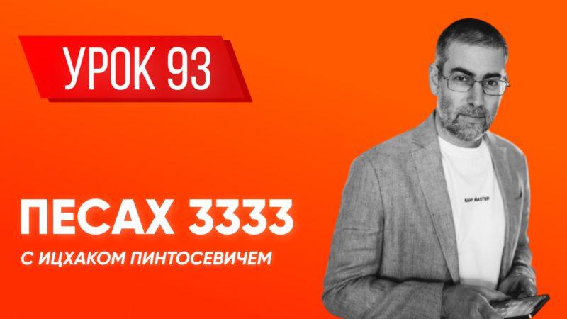 ✡ Ицхак Пинтосевич | Береги свою речь + «Краткая книга заповедей». Хафец Хаим. Урок 93